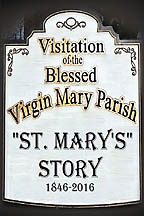 St. Mary's Story <BR><i> St. Mary's Parish</i>